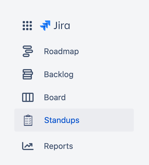Daily scrum through Slack